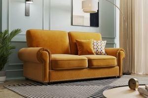 Интерьерный прямой диван Бергамо - Мебельная фабрика «Элфис»
