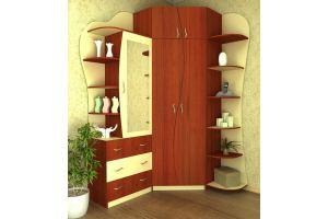 Интересный шкаф Бриз угловой - Мебельная фабрика «СМ-Мебель»