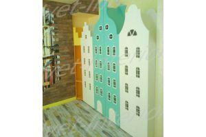 Интересный шкаф в детскую - Мебельная фабрика «Velvet-Interior»