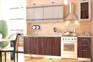 Кухня прямая Ирен - Мебельная фабрика «Мебель Поволжья»
