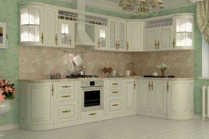 Угловая кухня Итальянка - Мебельная фабрика «Алмаз-мебель»