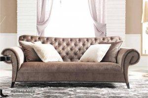 изящный диван европейского дизайна Нордео - Мебельная фабрика «МебельЛайн»