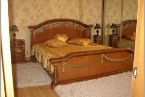 Изысканная двуспальная кровать - Мебельная фабрика «СибСервис»