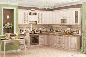 Изысканная классическая кухня Шарлотта - Мебельная фабрика «Витра»