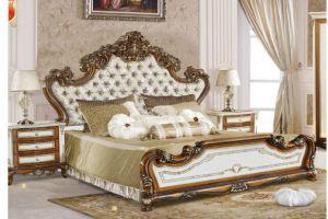 Изысканная кровать Екатерина - Импортёр мебели «FANBEL»