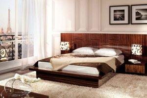Изысканная кровать Tuluza D - Мебельная фабрика «Möbel&zeit»