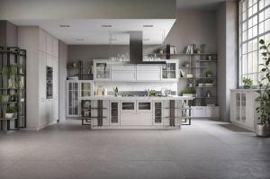 Изысканная кухня Фреда с островом - Мебельная фабрика «GeosIdeal»