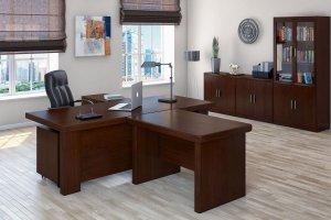 Кабинет для руководителя Davos - Мебельная фабрика «Кухни MIXX»