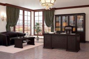 Кабинет для руководителя Dublin - Мебельная фабрика «Кухни MIXX»
