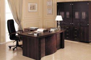 Кабинет для руководителя Monza - Мебельная фабрика «Кухни MIXX»