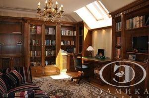 Кабинет классический массив - Мебельная фабрика «Элмика»