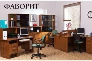 Кабинет ЛДСП Фаворит орех - Мебельная фабрика «Багратион»