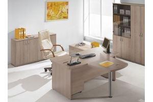 Кабинет ЛДСП светлый - Мебельная фабрика «Универсал Мебель»
