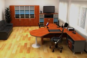 Кабинет руководителя BN berlinn - Мебельная фабрика «ИНКОМ»