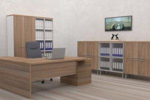 Кабинет руководителя Меценат 1 - Мебельная фабрика «ИНКОМ»