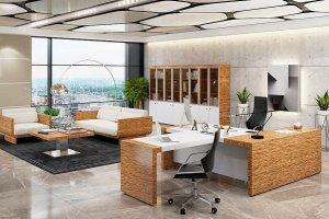 Кабинет Tokyo Белый глянец - Мебельная фабрика «Уфамебель»