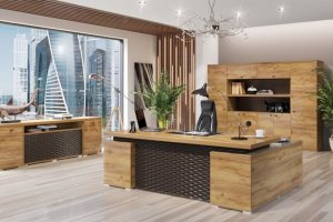 Кабинет Torino Дуб золотой - Мебельная фабрика «Уфамебель»