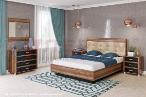 Спальный гарнитур Камелия 3 - Мебельная фабрика «Д'ФаРД»