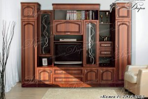 Гостиная Камея-1 - Мебельная фабрика «Дара»
