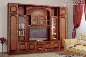Гостиная Камея-2 - Мебельная фабрика «Дара»