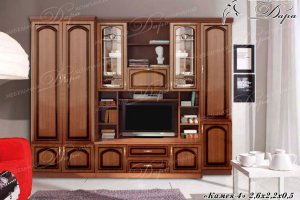 Гостиная Камея-4 - Мебельная фабрика «Дара»