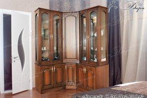 Буфет угловой Камея-9 - Мебельная фабрика «Дара»