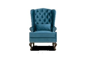Каминное кресло в каретке - Мебельная фабрика «Стильная Мебель»