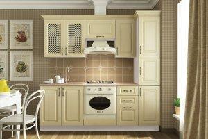 Кухня Кантри эмаль - Мебельная фабрика «CALPE»