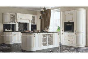 Кухня классическая с островом Канзас - Мебельная фабрика «Мебель Поволжья»