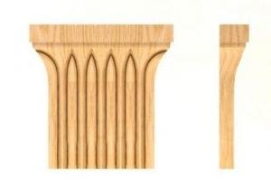 КАПИТЕЛИ Артикул: 8-006 - Оптовый поставщик комплектующих «Мебельная мастерская Строгановых»
