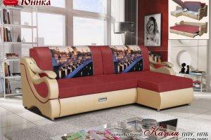 Угловой диван Капля - Мебельная фабрика «МК Юника»