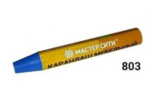 Карандаш мебельный Голубой - Оптовый поставщик комплектующих «Мастер Сити»