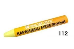 Карандаш мебельный Желтая пастель - Оптовый поставщик комплектующих «Мастер Сити»