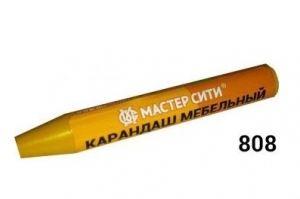 Карандаш мебельный Желтый - Оптовый поставщик комплектующих «Мастер Сити»
