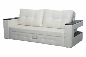Диван прямой светлый Карина 10 - Мебельная фабрика «Мечта»