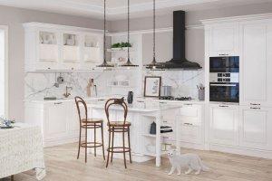 Классическая белая кухня Миранда - Мебельная фабрика «GRETA»