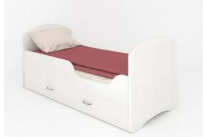 Кровать CLASSIC Белая с ящиками - Мебельная фабрика «Мебель Мечты»