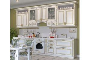 Классическая кухня прямая - Мебельная фабрика «Mebeon»