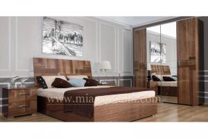 Классическая мебель для спальни Canaletto - Мебельная фабрика «Миасс Мебель»