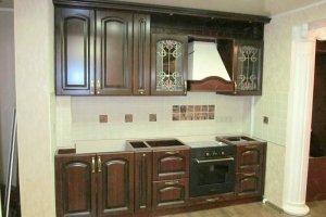 Классическая прямая кухня - Мебельная фабрика «Люкс-С»