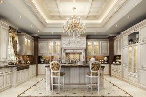 Классическая шикарная кухня Classico  Prestige - Импортёр мебели «Latini»