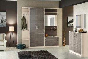 Классическая светлая прихожая - Мебельная фабрика «Вологодская мебельная фабрика»