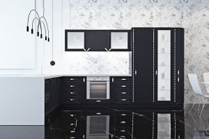 Классическая угловая кухня Майтон 2 - Мебельная фабрика «Линда»