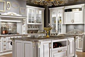 Классическая угловая кухня ОЛИМП - Мебельная фабрика «Рими (Интерстиль)»