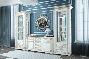 Классический гостиный гарнитур Монако - Мебельная фабрика «Европа»