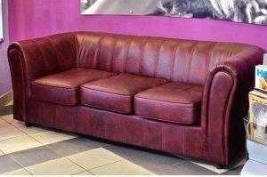 Классический мягкий диван Манхеттен - Мебельная фабрика «Атриум-мебель»