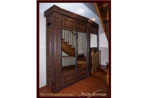 Классический шкаф-купе для прихожей - Мебельная фабрика «Эксклюзив»