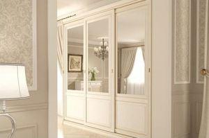 Классический шкаф-купе с зеркалом - Мебельная фабрика «Подольск»