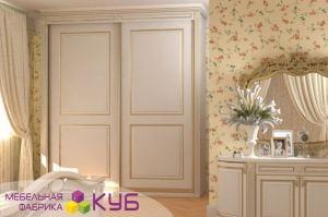 Классический шкаф-купе в спальню - Мебельная фабрика «КУБ»