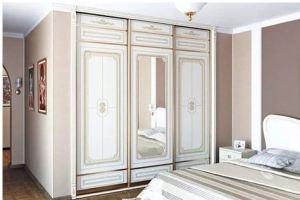 Классический встроенный шкаф-купе - Мебельная фабрика «Подольск»